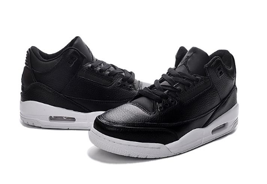 Cheap Jordan 3 (III) Retro Cyber Monday Black Black White